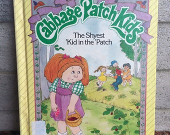80's book, Cabbage Patch Kids, CPK BOOK, the shyest Kid in the Patch