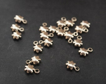 P0147/Anti-Tarnished Gold Plating Over Brass/6 Point Star Pendant /7 x5mm/6pcs