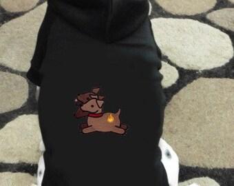 Cerberus 3 Headed Dog Hoodie Sweatshirt