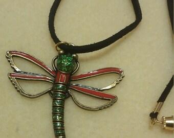 dragonfly pendant neckalce