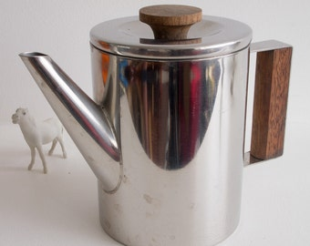 Small retro 70s coffee pot