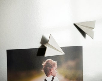 Paper Airplane Magnets (set of 3)
