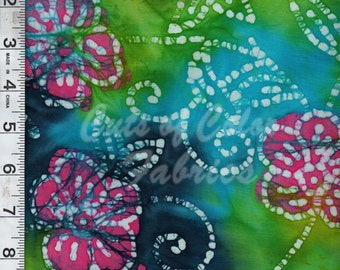 Batik Florals and Butterflies from Caledonia Gardens