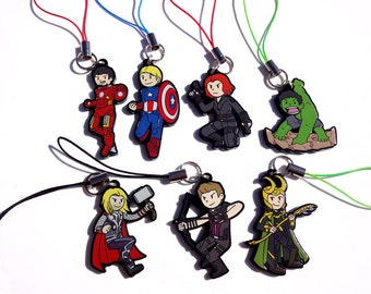 Avengers Acrylic Charms - Marvel - CLEARANCE