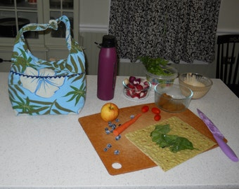 Hawaiian Insulated  Lunch Bag