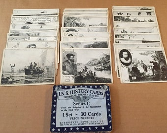 1926 I.N.S. History Cards Series C