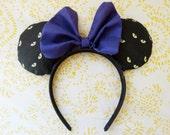 Creepy Eyes Disney Ears, Minnie Mouse Ears, Creepy Eyes Mickey Ears, Unique Disney Minnie Mouse Ears, Halloween Disney Ears