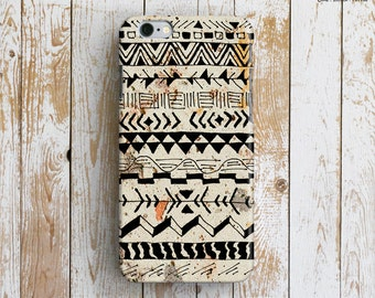 HAND ILLUSTRATED PATTERN iPhone 6 Case. Aztec iPhone 6 Case. Tribal iPhone Case. Tribal Pattern iPhone 6 Plus Case. Unique iPhone Case.