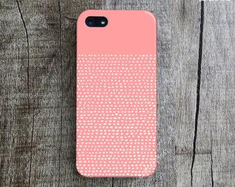 HAND ILLUSTRATION iPhone 5s Case. Coral iPhone 5 Case. Dotted Lines iPhone 5C Cover. Art iPhone 4 Case. Designer iPhone 4s Case. Unique Case