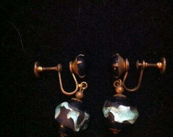 Vintage Screw-Back Earrings