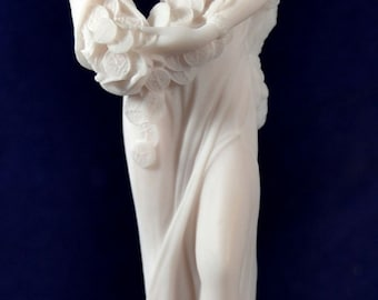 Fortuna Tyche Greek Goddess of Luck, Fate, and Fortune Mythology Statue NEW