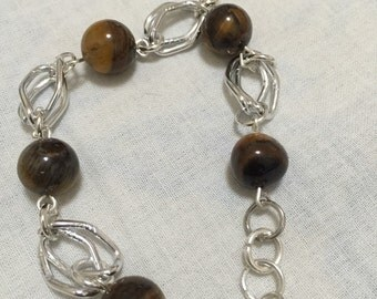 Bracelet with Tiger eye stone