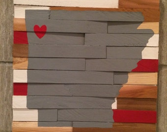 College Wall Hanging - University of Arkansas