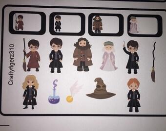Erin Condren Harry Potter Planner Stickers