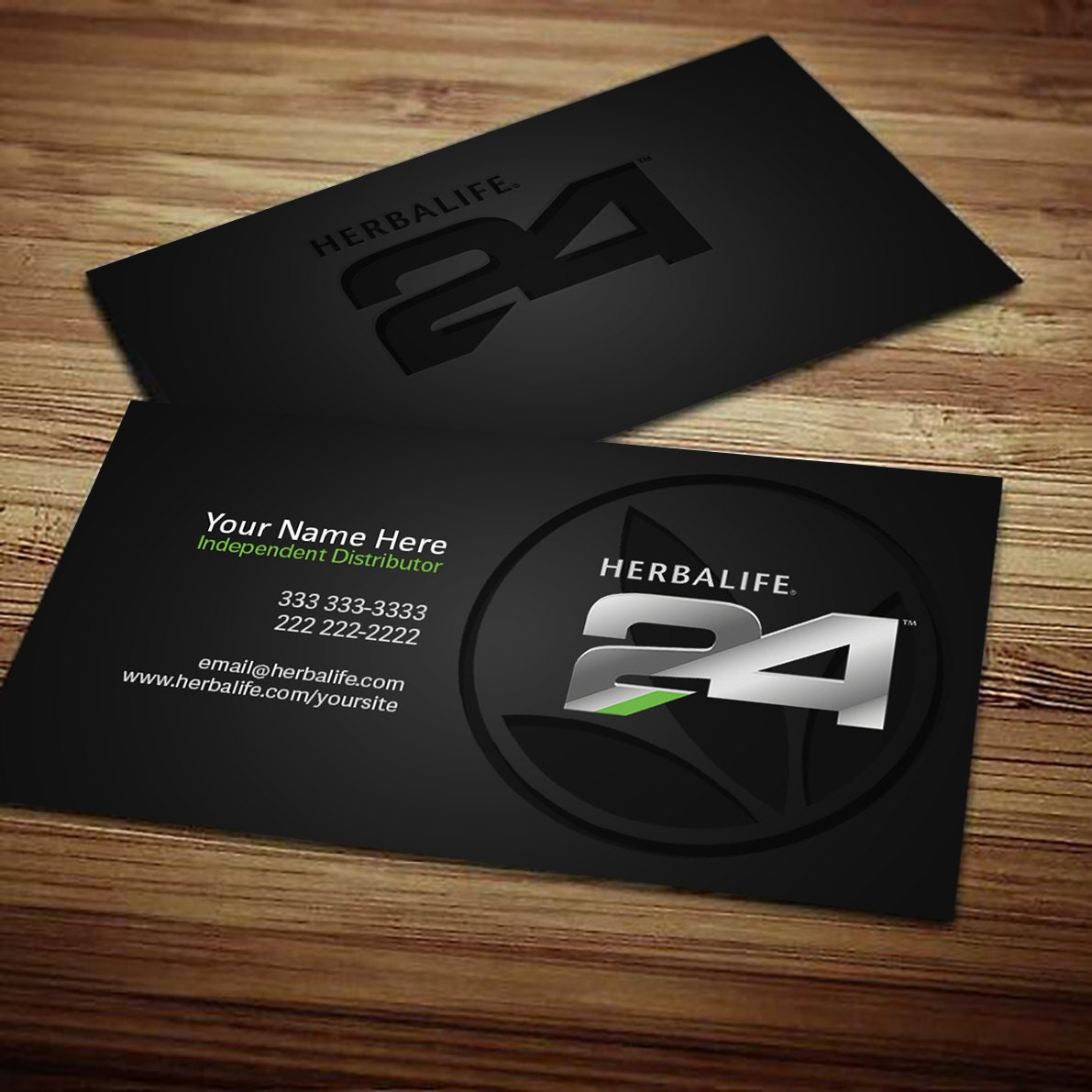 Herbalife business card digital download clean smooth by for Herbalife business card
