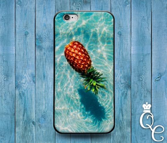 iPhone 4 4s 5 5s 5c SE 6 6s 7 plus iPod Touch 4th 5th 6th Gen Cool Beach Ocean Pool Pineapple Water Cover Cute Summer Spring Fall Case