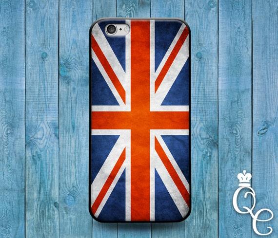 iPhone 4 4s 5 5s 5c SE 6 6s 7 plus iPod Touch 4th 5th 6th Gen Cool England Union Jack United Kingdom British Flag Cover Cute Country Case