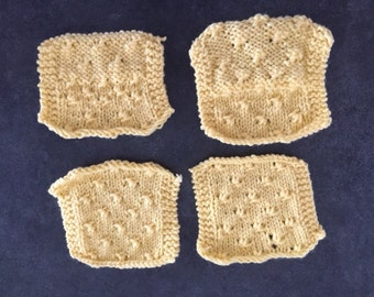 Knitted Coasters