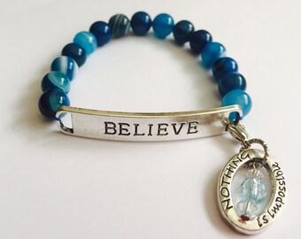 Believe Bracelet Jill's Chai