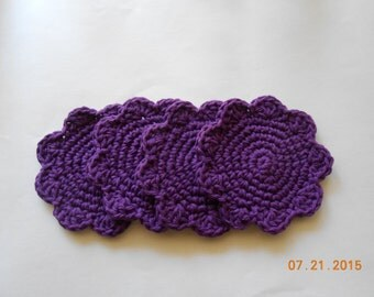 SALE  Flower coasters