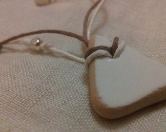 Authentic English Sea Pottery Shard Necklace