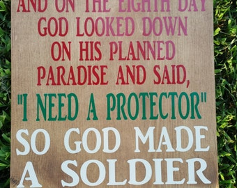 God made a Soldier