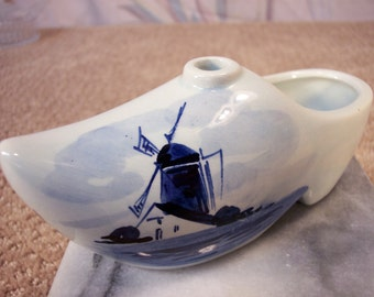 Vintage Porcelain Holland Shoe