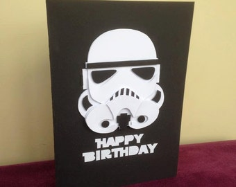 Star Wars Stormtrooper Birthday Card