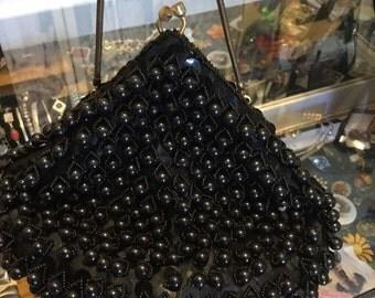 Hong Kong beaded purse