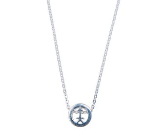 BELIEVE - sterling silver arrow with chain