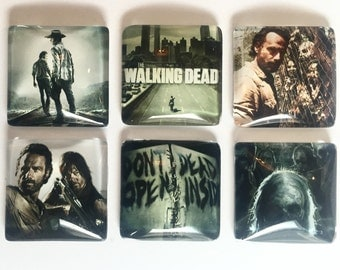 The Walking Dead Magnets- Set of 6