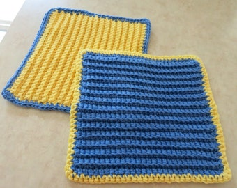 Crochet Dish Cloth (set)
