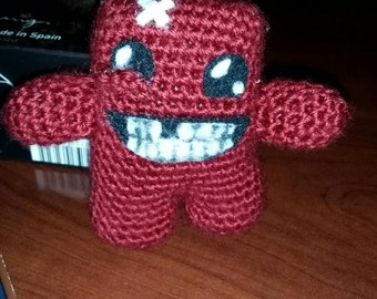 Super Meat Boy - Crochet
