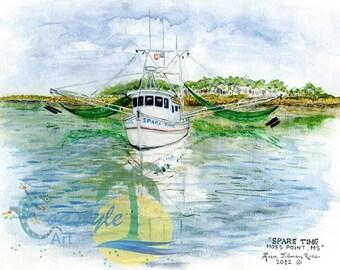 Sparetime Shrimp boat