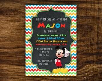 Mason - Printable Birthday Party Invitation