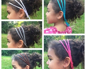 Triple Chain Crochet Headband