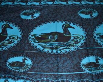 Ducks in The Pond Kitenge - 3.5 yards