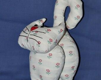 Cat fabric handmade
