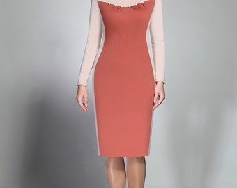581, Dress Women.  Elegant dress, festive dress, evening dress. Plus size