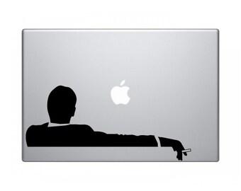 Don Draper Laptop Sticker
