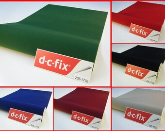 Contact Paper DC FIX Velvet Felt Sticky Back Plastic Self Adhesive Vinyl Film Contact Paper 2meters x 45cm