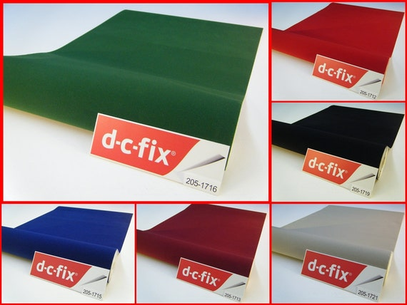 Contact Paper DC FIX Velvet Felt Sticky Back Plastic Self