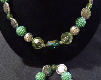 Green and Silver Set (Item #301)