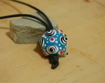 Super Funky Ceramic Pendant Necklace