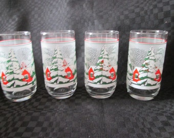 4 glasses season Christmas