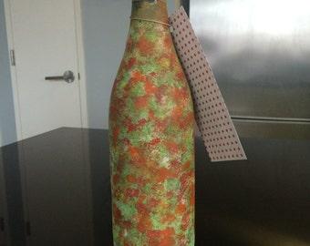 Handpainted Wine Bottles