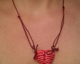Zombie Brain Necklace (Adjustable)