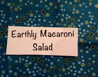Earthly  Macaroni  Salad
