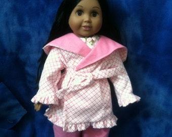 18 Inch Doll Clothing, Bath Robe