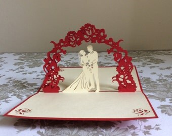 Wedding Pop-Up Card Regular